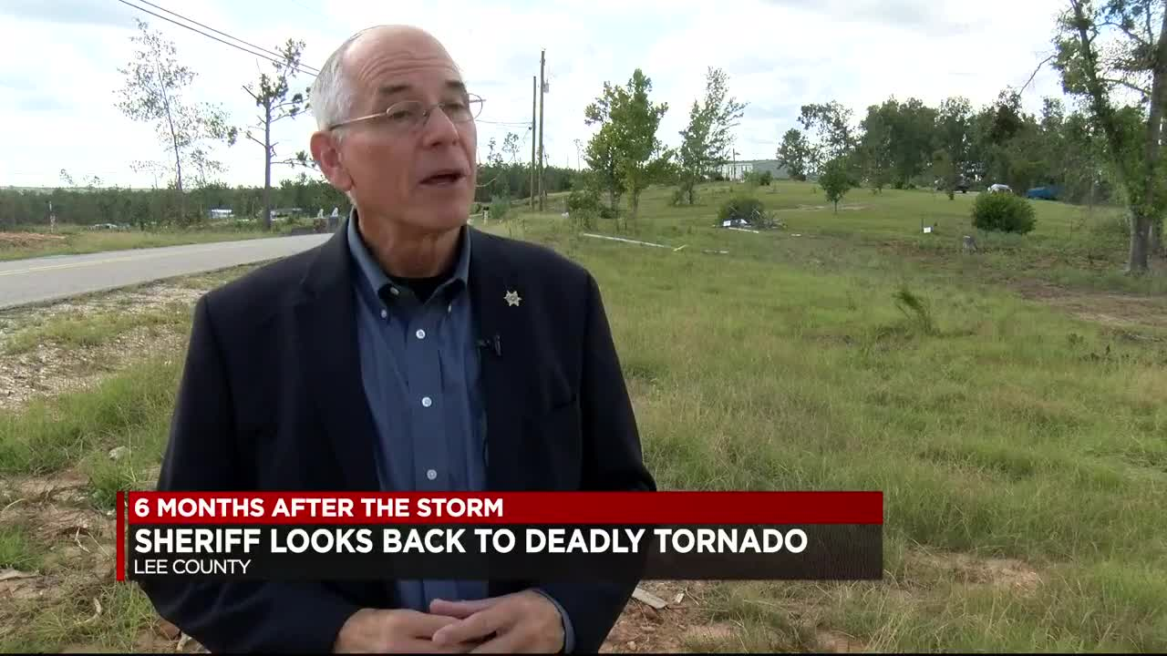 Lee County sheriff looks back at deadly March tornado
